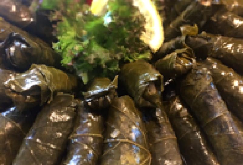 Fingerfood Weintraubenblätter