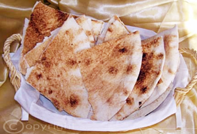 Arabisches Fladenbrot